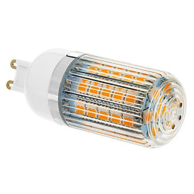 Rayshop - G9 9W 47X5060Smd 690Lm 2500-3500K Warm White Light Led Corn Bulb (210-240V)