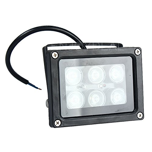 Fashion Outlet 6W Outdoor Projector Lamp Led Down-Light Flood-Light 6 Led Light,Waterproof Lamp, Purple