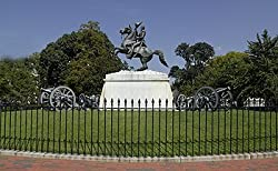 Andrew Jackson Statue, Lafayette Park, Washington Photograph - Beautiful 16x20-inch Photographic Print by Carol M. Highsmith