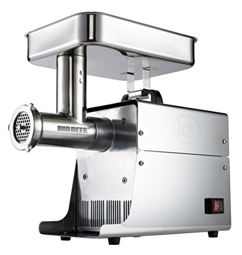 LEM Products W779A Stainless Steel Big Bite Electric #8-Meat Grinder (.35-HP) (Lem 5 Meat Grinder compare prices)