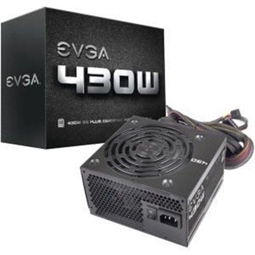 EVGA 430 W1, 80+ WHITE 430W, 3 Year Warranty, Power Supply 100-W1-0430-KR (350w Power Supply compare prices)