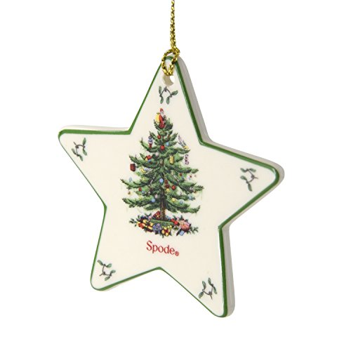 Spode Star Christmas Tree Ornament