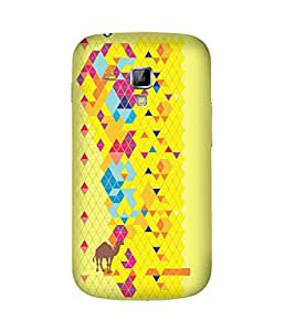 Stripes And Elephant Print-49 Samsung Galaxy S Duos S7562 Case
