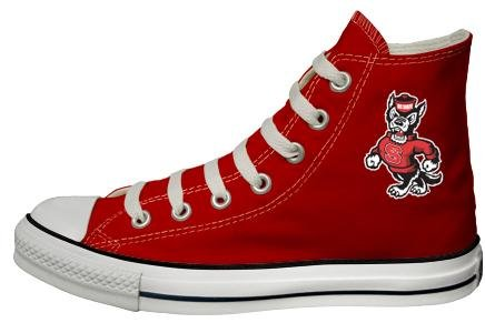 Buy Converse Chuck Taylor All Star Hi Top Red North Carolina State University Mascot Canvas