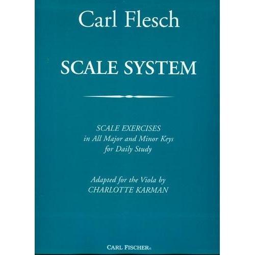 Flesch, Carl - Scale System - Viola - arranged by Charlotte Karman - Carl Fischer Edition