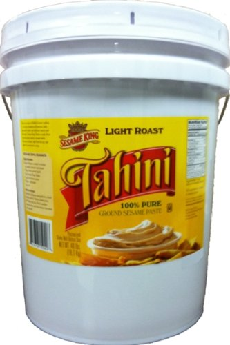 Sesame King Tahini Light Roast, 640-Ounce by Sesame King