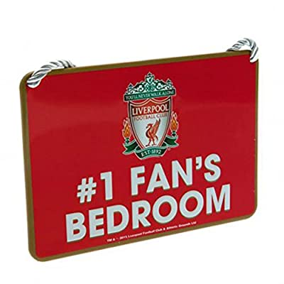 Liverpool Number 1 Fan Bedroom Sign