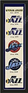 Heritage Banner Of Utah Jazz-Framed Awesome & Beautiful-Must For A Championship... by Art and More, Davenport, IA