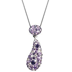 Damen-Halskette mit Swarovskikristallen