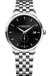 Raymond Weil 5484-ST-20001 39mm Silver Steel Bracelet & Case Anti-Reflective Sapphire Men's Watch