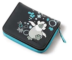Nici 33192 - Geldbeutel Sponge Pinguin, hellgrau