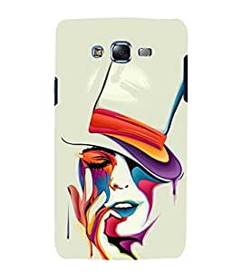 printtech Beautiful Girl Art Back Case Cover for Samsung Galaxy Grand 3 G720 / Samsung Galaxy Grand Max G720