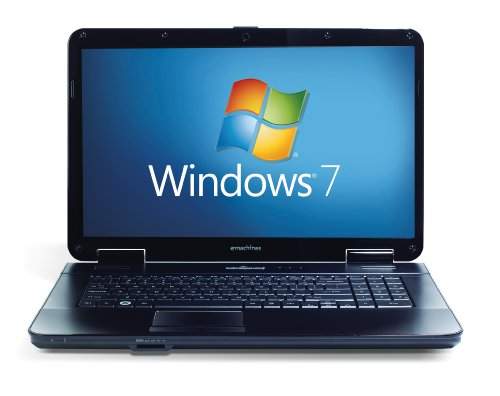 Emachines E627, 15.6 inch Laptop (WHGA LCD, AMD Athlon 67 TF-20, 2GB RAM, 250GB HDD, DVD-RW, Windows 7 Home Premium)