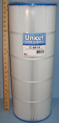 Unicel C-8414 Replacement Filter Cartridge for 150 Square Foot Waterway Clearwater II 150, Waterway Pro Clean 150, Jandy CS150