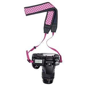 Macbeth MB-NSSEPW Collection Soft Neoprene Camera Strap- Pink Ava