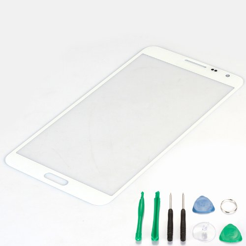 Generic New Front Glass Lens Replacement (Lcd Display And Touch Screen Digitizer Not Included) For For Samsung Galaxy S5 I9600 -White