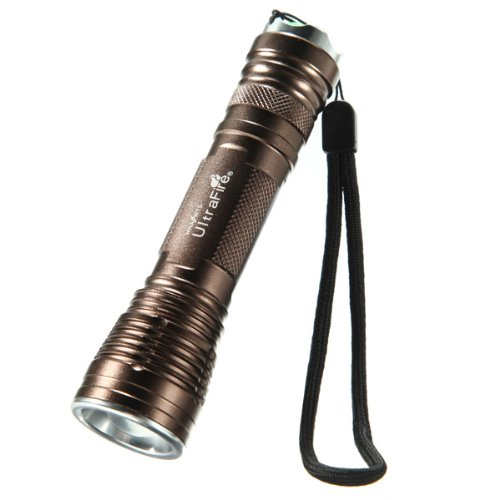 Ultrafire Cree Xm-L T6 5 Modes 12W 1000Lm Zoomable Led Flashlight