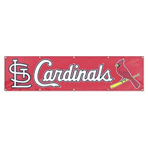MLB St. Louis Cardinals Banner, 8-Foot by Party Animal