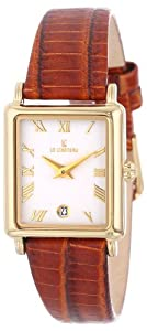 Le Chateau Women's 2200L_WHT Roman Numerals and Date Watch