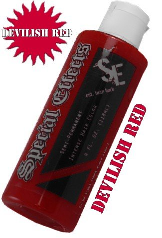 Special Efects Hair Dye -Devilish Red #19