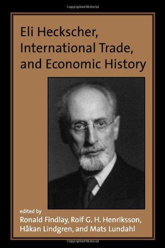 Eli Heckscher, International Trade, and Economic History