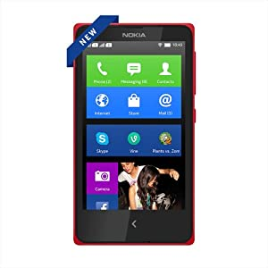 Nokia X (Dual SIM, Red) Android Phone at Cheapest Price Rs 6999