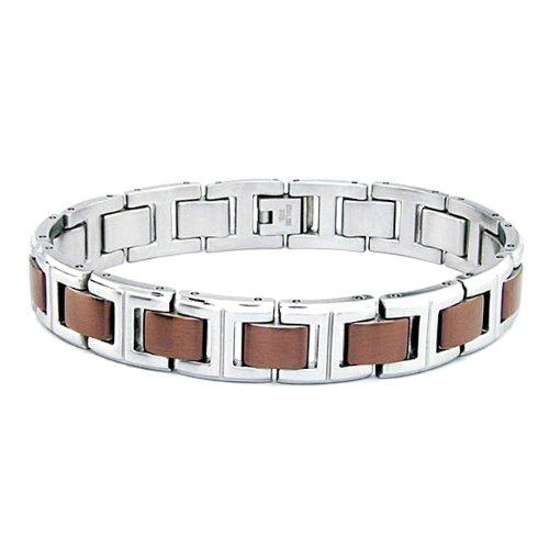 Stainless Steel Men's Bracelet 8.25 Inches