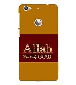 printtech Allah Muslim God Back Case Cover for LeEco Le 1s