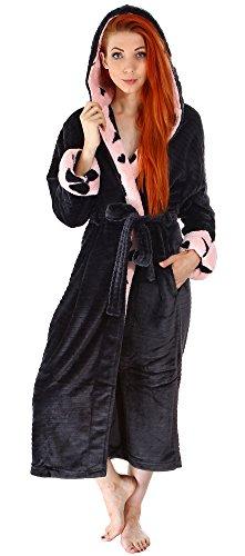 Simplicity Women's Ultra Soft Plush Kimono Bathrobe with Pockets