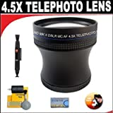 4.5X Proffessional HD Mark II Special Edition Telephoto Lens For The Sony Alpha NEX-5, NEX-3 Digital Camera Which Have The Sony E Series (16mm, 18-55mm) Lens ~ db