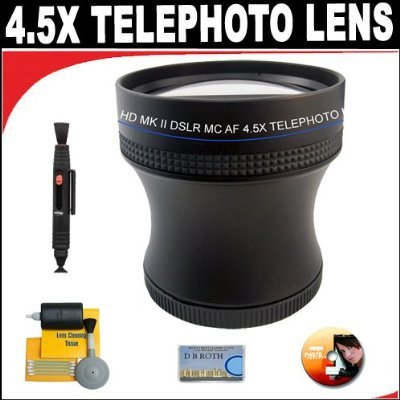 4.5X Proffessional Hd Mark Ii Special Edition Telephoto Lens For The Canon G11 Digital Camera