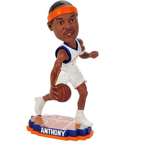 Amazon.com : Carmelo Anthony New York Knicks Court Base Bobble Head