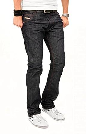 Mens Diesel KROOLEY 0880G Carrot Regular Dark Denim Jeans Size W36 x L32