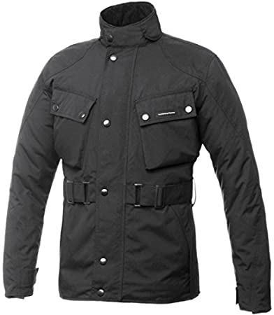 Tucano Urbano 8910mf022N6Urbis 4G-Respirabilité, Windproof and Waterproof Motorcycle rembourrée pour homme, noir, Taille XL