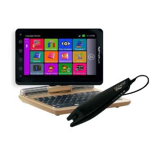 Ectaco Partner Lux 2 Pro English <-> Japanese Free Speech Electronic Translator & Language Teacher - Learn Japanese & English With C-Pen Scanner