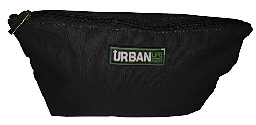 Urban Life Assets Toiletry Bag- Multi-Purpose Canvas Dopp, Makeup, Cosmetic or Pencil Bag, Black (Natural Breeze Shoes compare prices)