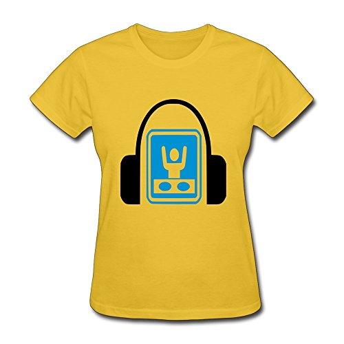 Women T Shirt Dj Headphones Dj Sign Record Mixing Decks,Customize Funny T-Shirts