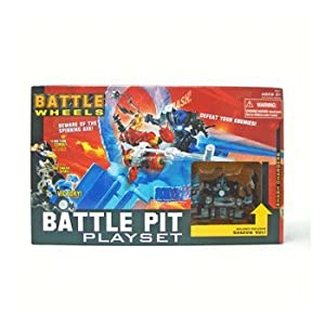 Battle Wheels - Battle Pit Playset with Exclusive Shadow Vul
