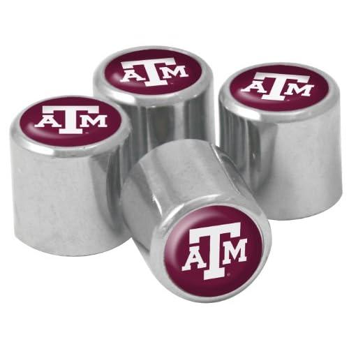 Amazon.com: NCAA Texas A&M Aggies Metal Tire Valve Stem Caps, 4-Pack