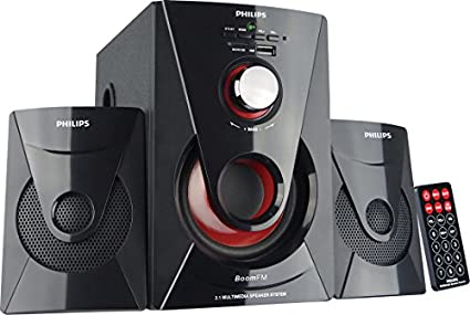 Philips MMS 1515F 2.1 Channel Multimedia Speaker