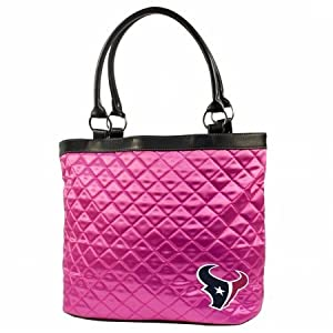 NFL Houston Texans Pink Quilted Tote by Little Earth