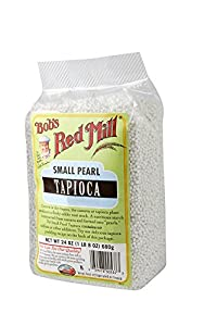 Bob's Red Mill Tapioca, Small Pearl, 24-Ounce Units (Pack of 4)