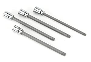 Powerbuilt 648888 Star Brake Caliper Long Shaft Set - 4 Piece
