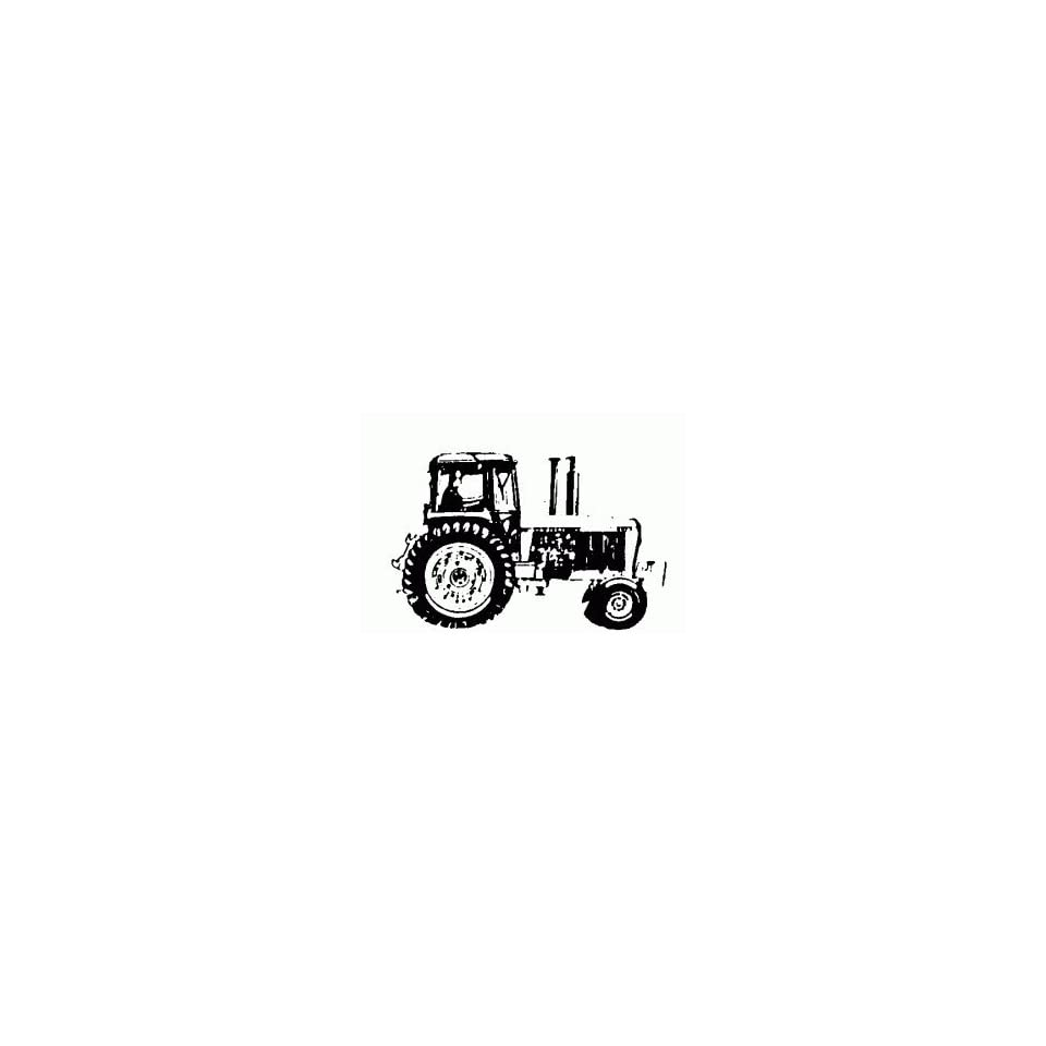 John Deere Tractor Rubber Stamp Arts, Crafts & Sewing
