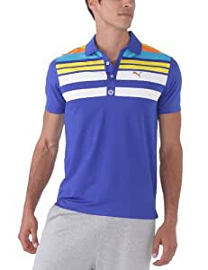 Puma Engineered Stripe Polo Technique manches courtes homme Surf The Web XS