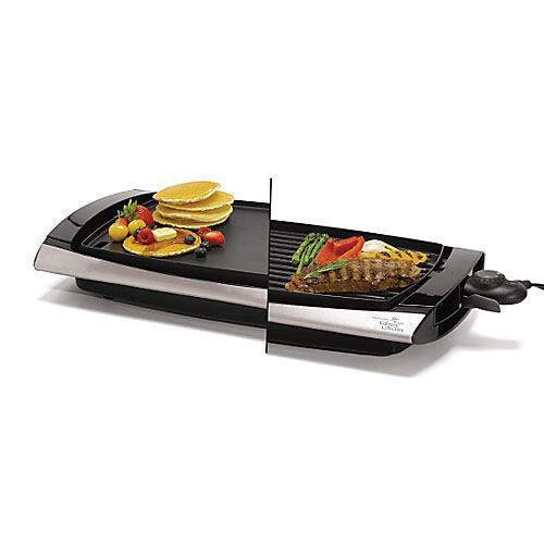 Wolfgang Puck's indoor Reversible Grill - Griddle