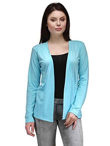 TSX Cotton Women's Blue Shrug