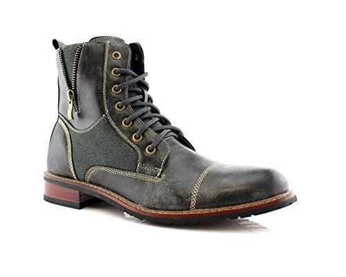 Ferro Aldo Mfa-808561 Mens Lace Up Military Combat Work Desert Ankle Boot 0