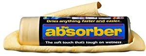 The Absorber Synthetic Drying Chamois, 27' x 17', Natural