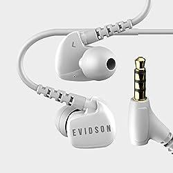 Evidson AudioSport W6 Earphones with Mic White
